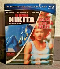 La Femme Nikita / Run Lola Run (Blu-ray w/Slipcover) 2 Movie Collector's Set New