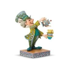 "Disney Traditions Jim Shore's Alice in Wonderland Mad Hatter ""A Spot of Tea"" Fig"