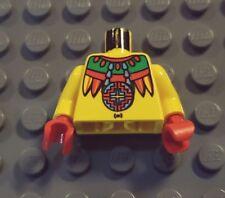 LEGO Adventurers Achu Minifig Jungle Torso rare