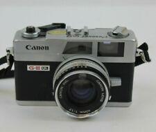 Vintage Canon Canonet QL17 G-III QL 35mm Rangefinder Camera 40mm 1:1.7 Lens