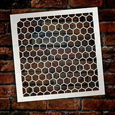 Honeycomb Stencil by StudioR12 | Country Repeating Pattern Stencil- 6 x...