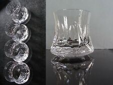 Set 4 verre Cristal  ROYALE DE CHAMPAGNE - LOT Crystal Glasses - Daum Bayel