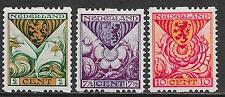 Netherlands stamps 1925 NVPH Roltanding R71-R73  MLH  VF
