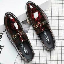Oxfords Mens Dress Formal Patent Leather Casual Pointy Toe Slip On Shoes 8