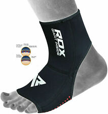 RDX Neoprene Ankle Brace Support Pad Guard MMA Foot Muay Thai Boxing Gym Sport A