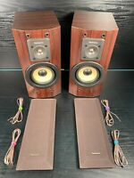 Technics SB-HD560 Bookshelf Speakers Pair - Working with Excellent Sound - 60W