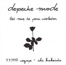 DEPECHE MODE LIVE IN NAGOYA 09-09-1990