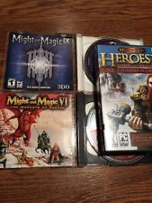 Might And Magic / Game Lot Rare Mandate Ix Heroes V Blood Gore Violence✅