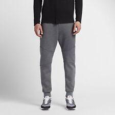 Mens Nike Sportswear Tech Fleece Pants 805162-091 Carbon Heather Size S-tall
