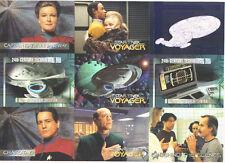 1995 Star Trek Voyager Trading Card Promo Sheet Uncut