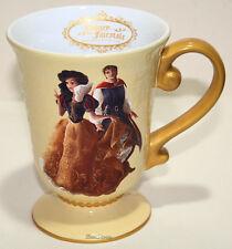 New listing Snow White & Prince Disney Store Designer Fairytale Couple Ceramic Mug Cup Dfdc