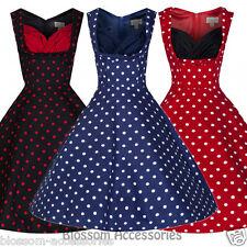 Knee Length Machine Washable Lindy Bop Dresses for Women