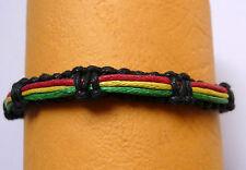 Rasta Armband Freundschaftarmband Baumwolle Surf Jamaika Bob Marley Reggae
