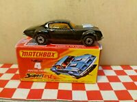 Matchbox lesney Superfast No4 Pontiac Firebird Car  Boxed