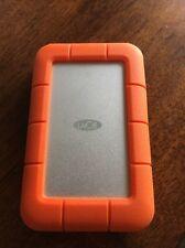 LaCie Rugged 1TB USB 3.0 Thunderbolt Portable External Hard Drive LAC9000488