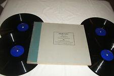 """D.E. INGHELBRECHT 4 x 12"""" 78 RPM Set DEBUSSY Nocturnes Columbia M-344 EX"""