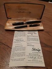 More details for sheaffer snorkel fountain pen and pencil set