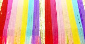Beautiful Balloons Pastel Rainbow Backdrop kit with Gold glitz Curtain