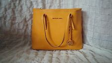 Michael Kors Jet Set Large Saffiano Leather Tote Travel Bag