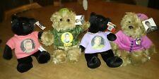 New N Sync Rare Limited Edition Justin Timberlake,Lance, Chris Bears-4 Total!