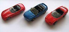 Lot of Three (3) Modern American Convertible Sports Cars: Mustang, Viper, Camaro