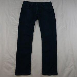 Banana Republic 30 x 30 Traveler Slim Fit Dark Rinse Flex Denim Jeans