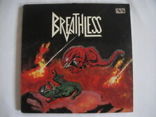 BREATLESS - Breathless PRIVATE Speed Metal RARE LP Belgian Press