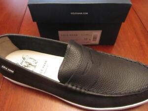 Cole Haan Weekend Black Mens Leather Sneakers Shoes NIB US 13