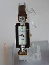 Armitron Now women's two tone MOP dial crystal accent quartz watch 75/3649TT