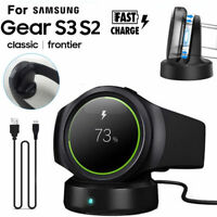 Wireless Stand Charging Charger Dock for Samsung Gear S2 S3 SM-R750 Smart Watch