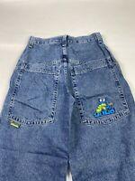 Rare Vintage VTG 90s Jnco Alien Control Wide Leg Jeans Sz 29x29 USA Made (2118)