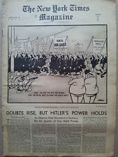 rare revue journal THE NEW YORK TIMES MAGAZINE january 29 1939 section7