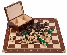 SQUARE - Pro Wooden Chess Set No. 6 - FRANCE - Chessboard & Chess Pieces