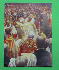 Cigarette Card Peter Jackson The Pageant of Kingship 1937 Lge Card #136 VGC 77