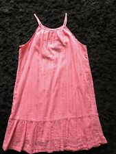 Girl's Size L (10-12) Old Navy Pink Sundress Easter Holiday Spring EUC