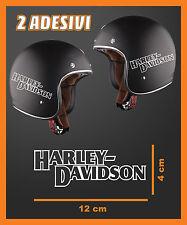 ADESIVO DECAL STICKERS REPLICA HARLEY DAVIDSON OLD CASCO MOTO CUSTOM