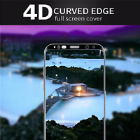 Clear TEMPERED GLASS FULL Coverage Screen Protector for Samsung Galaxy S8 Plus