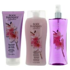 Japanese Cherry Blossom by Body Fantasies, 3 Piece Set for Women