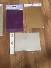 32 Shiny Pieces Of Card- Great Pack Various Colours - Check It Out