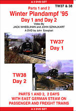 TW37 -38 WINTER PLANDAMPF '95 a DVD on German Steam, by John Szwajkart