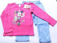 Schlafanzug Minnie Mouse Gr.122 /128 Disney NEU m.E 100% Baumwolle Pyjama kinder