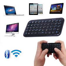 Teclado Inalámbrico Bluetooth 3.0 tamaño de bolsillo mini Tablet PS4 teléfono Raspberry Pi