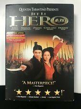Hero Dvd - 2002 - Jet Li
