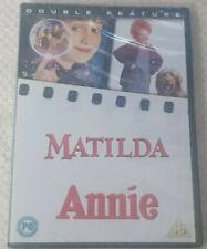 DVD Matilda/Annie [DVD] [2007] Double NEW & Sealed