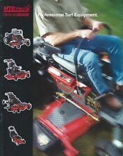 Lawn Equipment Brochure - MTD PRO - Turf Riding Mower et al - c1998 (LG53)