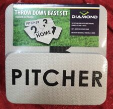 Throw Down Thick Foam 5pc Base Set Baseball Sports Kickball Soft Water Resistant