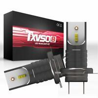 H7 110W 30000Lm LED Car Headlight Conversion Globes Canbus Bulbs Beam 6000K Hot