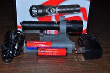 Streamlight Strion Flash Light Black 700 Lumens HL 2 Li-ion Bat, 2 switch 74619