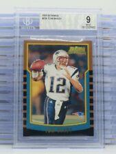 2000 Bowman Tom Brady Rookie Card RC #236 BGS 9 MINT Patriots N51
