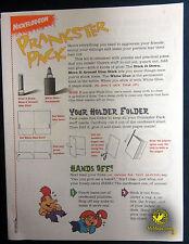 Nickelodeon Prankster Pack :: 1995